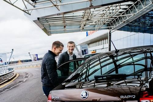 Такси до границы Латвии